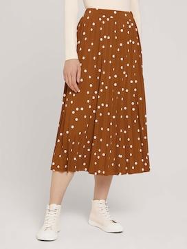 Midi skirt with pleats - 1 - TOM TAILOR Denim