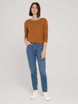 Mom Fit Jeans mit Bio-Baumwolle - 3 - TOM TAILOR Denim