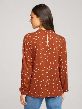 long-sleeved shirt with ruffles - 2 - TOM TAILOR Denim