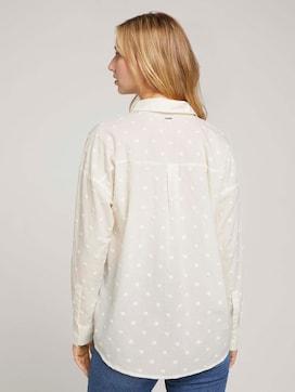 oversized shirt blouse - 2 - TOM TAILOR Denim