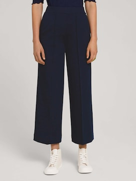 Relaxed Culotte Hose mit recyceltem Polyester - 1 - TOM TAILOR Denim