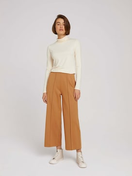 Relaxed Culotte Hose mit recyceltem Polyester - 3 - TOM TAILOR Denim