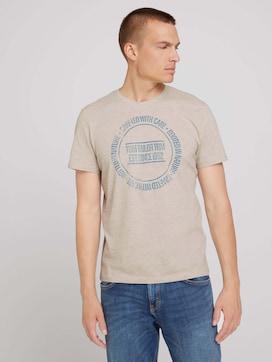 T-shirt met print - 5 - TOM TAILOR