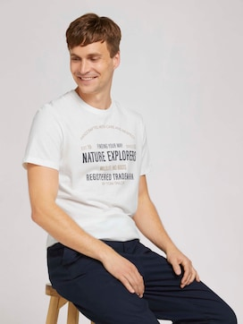 Print t-shirt with organic cotton - 5 - TOM TAILOR