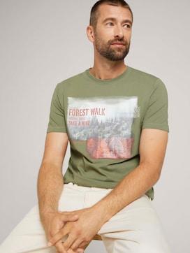T-Shirt mit Fotoprint aus Bio-Baumwolle - 5 - TOM TAILOR