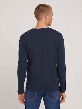 Basic Langarmshirt aus Bio-Baumwolle - 2 - TOM TAILOR