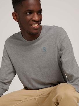 Basic Langarmshirt aus Bio-Baumwolle - 5 - TOM TAILOR