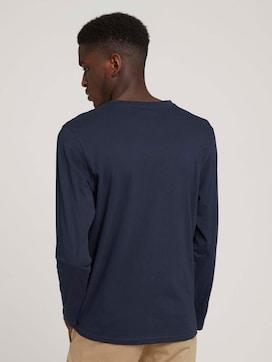 Langarmshirt mit Print aus Bio-Baumwolle - 2 - TOM TAILOR