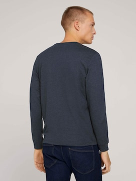 Long-sleeved shirt with organic cotton - 2 - TOM TAILOR