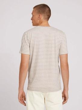 Gestreept t-shirt van biologisch katoen - 2 - TOM TAILOR