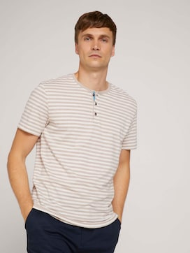 Gestreiftes T-Shirt mit Bio-Baumwolle - 5 - TOM TAILOR