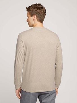 Langarmshirt mit Bio-Baumwolle - 2 - TOM TAILOR