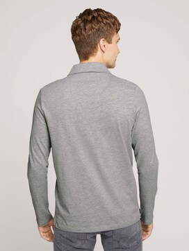 Pololangarmshirt mit Bio-Baumwolle - 2 - TOM TAILOR