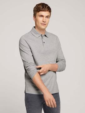 Pololangarmshirt mit Bio-Baumwolle - 5 - TOM TAILOR