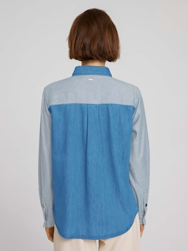 Jeansbluse aus Bio-Baumwolle - 2 - TOM TAILOR Denim