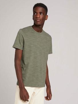 fijn gestreept T-shirt - 5 - TOM TAILOR