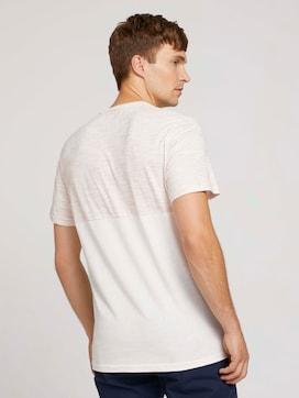 gestreept T-shirt met borstzak - 2 - TOM TAILOR