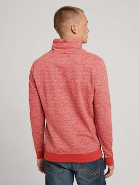 Sweatshirt mit Wickelkragen - 2 - TOM TAILOR