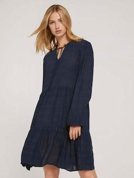 Kleid mit Raffungen - 5 - TOM TAILOR Denim