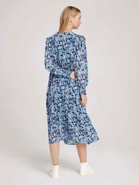 Midi Kleid mit Raffungen - 2 - TOM TAILOR Denim