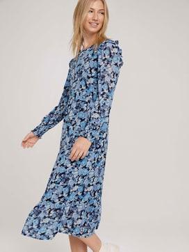 Midi Kleid mit Raffungen - 5 - TOM TAILOR Denim