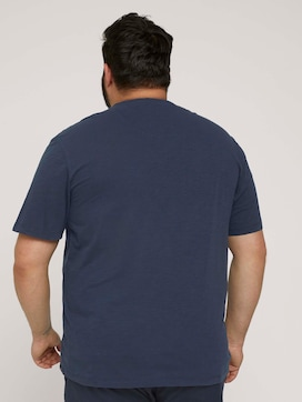 T-Shirt mit Waschung - 2 - Men Plus