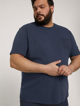 T-Shirt mit Waschung - 5 - Men Plus