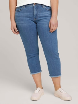 Cropped Slim Fit Jeans - 1 - My True Me
