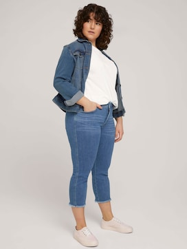 Cropped Slim Fit Jeans - 3 - My True Me