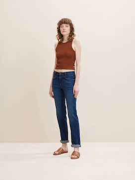 Alexa Straight Jeans mit Stretch - 1 - TOM TAILOR