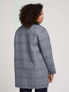 Curvy - reversible checked coat - 2 - My True Me