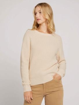 Pullover mit Bio-Baumwolle - 5 - TOM TAILOR Denim