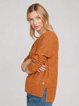 Sweater made with recycled polyester - 5 - TOM TAILOR Denim