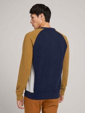 sweatshirt with colour blocking - 2 - TOM TAILOR Denim