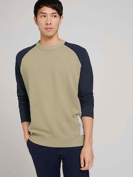 sweatshirt with colour blocking - 5 - TOM TAILOR Denim