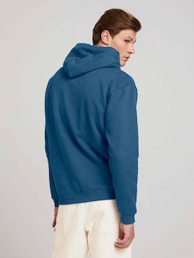 basic hoodie with organic cotton - 2 - TOM TAILOR Denim