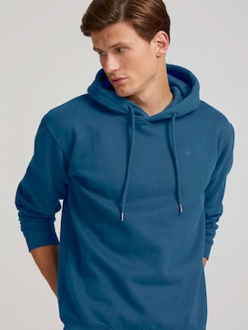 basic hoodie with organic cotton - 5 - TOM TAILOR Denim