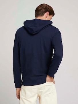 textured hoodie - 2 - TOM TAILOR Denim