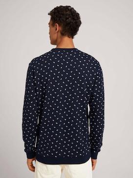 sweatshirt met patroon - 2 - TOM TAILOR Denim
