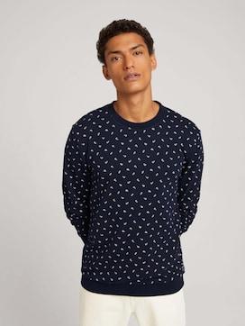 sweatshirt met patroon - 5 - TOM TAILOR Denim