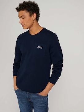 Sweatshirt mit Brusttasche - 5 - TOM TAILOR Denim