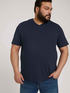 Basic T-Shirt im Doppelpack - 5 - Men Plus