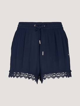 Relaxed Shorts mit Spitze - 7 - TOM TAILOR Denim