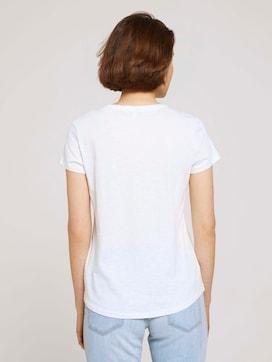 T-shirt with a V-neckline - 2 - TOM TAILOR Denim