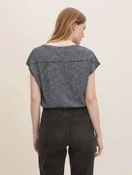 gestreiftes T-Shirt - 2 - TOM TAILOR