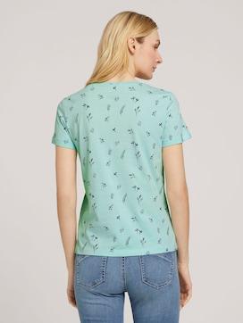 T-shirt van biologisch katoen met bloemenprint - 2 - TOM TAILOR