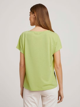 Print T-Shirt mit Knoten - 2 - TOM TAILOR
