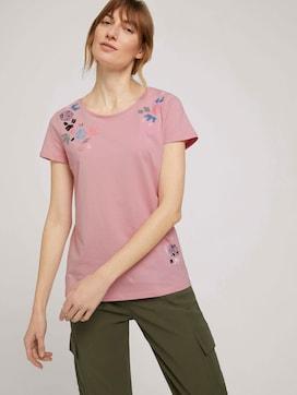 Print T-shirt van biologische katoen - 5 - TOM TAILOR