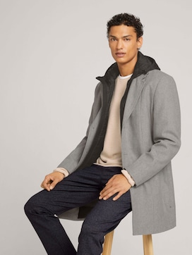Coat with a sweat jacket - 5 - TOM TAILOR Denim