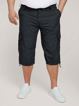 Slim Cargo Bermuda Shorts - 1 - Men Plus